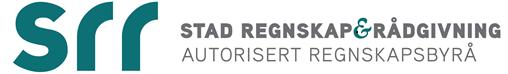 SRR – Stad Regnskap og Rådgivning Logo